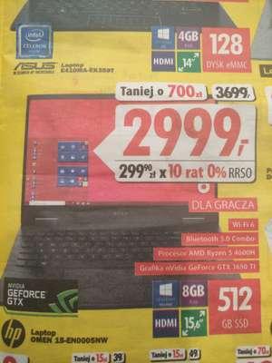 Laptop HP OMEN 15-EN0005NW