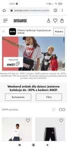 Weekend zniżek dla dzieci: 10% do przecen , jesienne kolekcje do -30%
