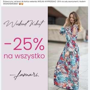 Rabat na cały asortyment - Polska marka odzieżowa