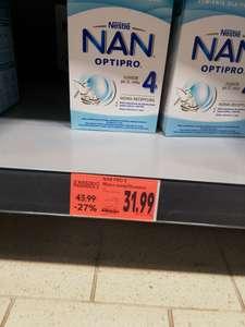Mleko modyfikowane Nestle NAN OPTIPRO 2,3,4,5 kaufland