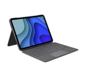 klawiatura z etui Logitech Slim Folio iPad Pro 11-inch Szary