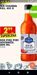 Biedronka; sos piri piri gourmes200ml