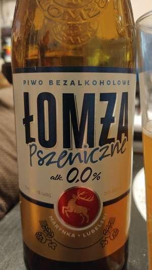 Piwo bezalkoholowe Łomża Pszeniczne ZERO 0.0% Leclerc Ursynów