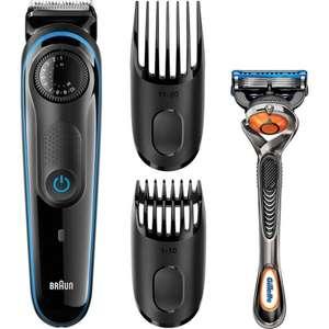 Trymer Braun BT 3040 dodatkowo maszynka do golenia Gillette Fusion5 ProGlide