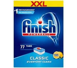 Tabletki do zmywarki Finish Classic Cytrynowy 77 szt., od.os 0zł