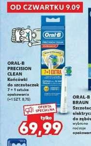 Końcówki Oral B 8 szt (8,75 szt)Precision Clean Kaufland
