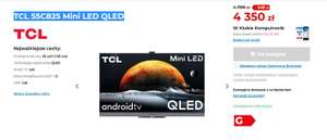 Telewizor TCL 55C825 Mini LED QLED 2021r.