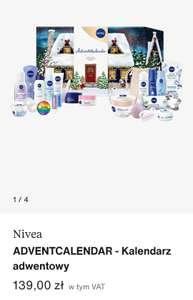 Kalendarz adwentowy Nivea 2021. Zalando