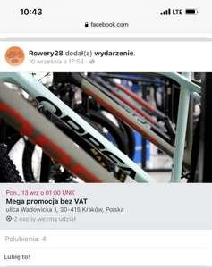 MTB, Author, i inne - ROWERY 28 - zakupy bez VAT - Kraków