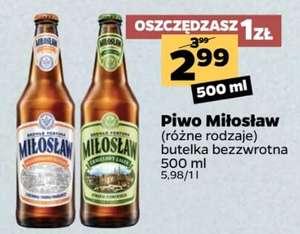 Piwo Miłosław browar Fortuna @netto