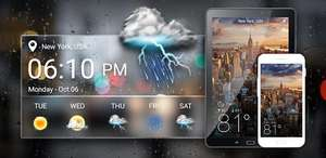 Weather App Pro (Android- Google Play)