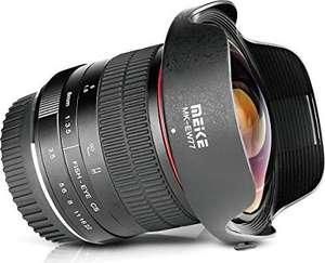 Obiektyw rybie oko Meike 8mm f3.5 APS-C do aparatu fotograficznego Canon EF (MK-00835CE)