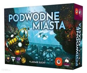 Gra planszowa Podwodne Miasta w super cenie