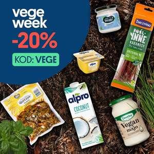20% na produkty vegetariańskie w aplikacji JOKR