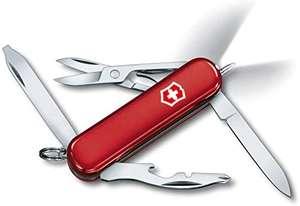 Victorinox Scyzoryk Midnite Manager (10 funkcji, światło LED, nożyczki, długopis), czerwony