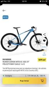Rower górski Rockrider XC 500