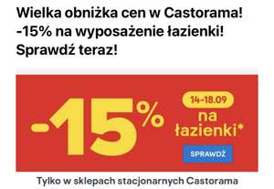 -15% na łazienki