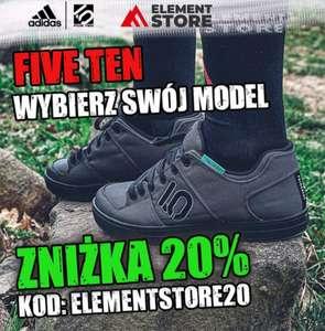 Kod 20% na odzież i akcesoria na rower ELEMENTSTORE.PL