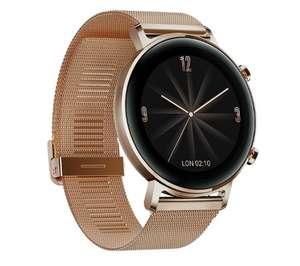 Smartwatch Huawei WATCH GT 2 42mm (złoty)