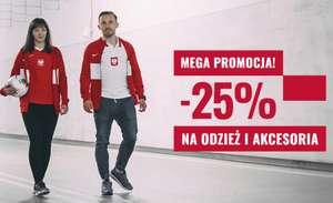25% rabatu na odzież i akcesoria kibica reprezentacji Polski @R-Gol