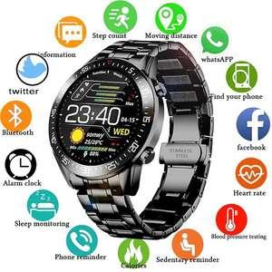Smartwatch Lige LG0160 (6 wersji kolorystycznych, monitoring snu, pulsometr, powiadomienia i inne) @ Light In The Box