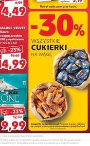 KAUFLAND - wszystkie cukierki na wagę 30% taniej