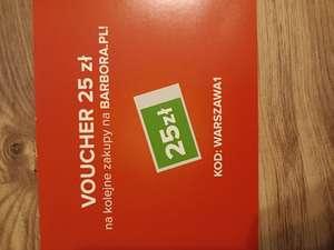 Barbora zniżka 25 zł MWZ125