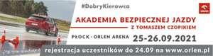 Akademia Bezpiecznej Jazdy - darmowe szkolenie (Płock)