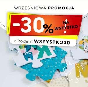 30% na wszystkie produkty Trefl - Puzzle, gry w firmowym sklepie Trefl