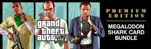 Grand Theft Auto V: Premium Edition & Megalodon Shark Card Bundle