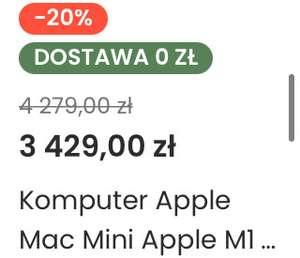 Apple Mac mini m1 512 gb
