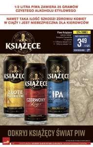 Piwo Książece IPA, puszka