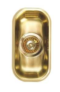 Zlew Alveus Monarch Variant 110 1114240 (złoty), Stal nierdzewna CrNi 18/10 @Euro