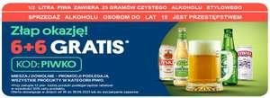 Warszawa: Piwo 50% taniej przy zakupie 12 sztuk w JOKR