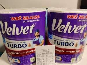 Ręcznik papierowy XXL Velvet Turbo super mocny, trzy grube warstwy super wytrzymały, chłonna struktura w sklepach Lidl