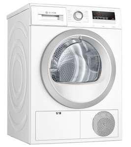 Suszarka bębnowa Bosch WTH85V0EPL Serie 4, kondensacyjna, p. ciepła, 8kg, A++, 65 dB, 68x62x88 cm, wąż odp. @ Euro