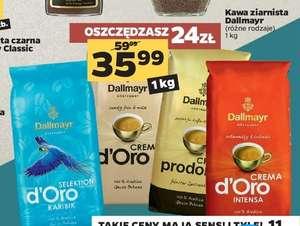 Kawa ziarnista Dallmayr 1 kg różne rodzaje po 35,99 zł w Netto