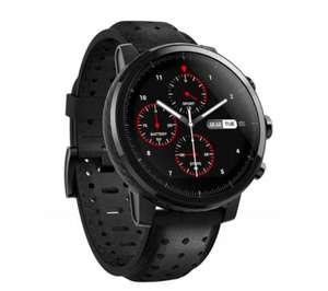 Smartwatch Amazfit Stratos+ (czarny) na euro.com.pl