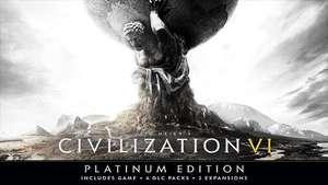 Sid Meier's Civilization VI Platinum Edition na PC za 38,49 zł (możliwe 36,26 zł) w WinGameStore @ Steam