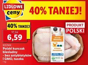 Polski kurczak biesiadny, bez antybiotyków i gmo, cena za kg- lidl