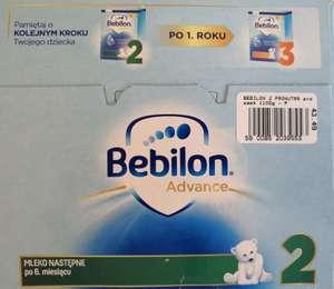 Mleko modyfikowane Bebilon advance 2 1100g
