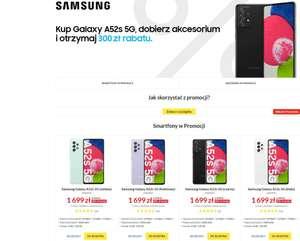 Samsung Galaxy A52s 5G za 1731 z Euro Rtv Agd