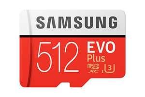 Karta pamięci 512GB Samsung Evo+ Micro SDXC 237 zł Amazon