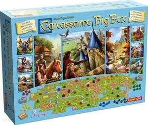 Gra planszowa - Carcassonne Big Box (BGG 8.2) (edycja polska) @Allegro