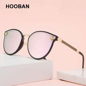 Okulary przeciwsłoneczne w kształcie kocich oczu z polaryzacją UV400 - razem z VAT'em $4.11