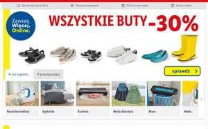 Wszystkie buty w sklepie internetowym Lidla obniżka 30%