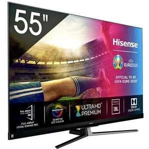 "telewizor 55"" Hisense 55U8QF 4K 120Hz Dolby Atmos Full Array"