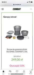 Zestaw do gotowania Esbit ALCOHOL COOKSET 2.35L
