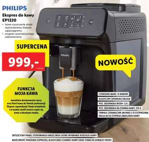 Ekspres do kawy PHILIPS EP1220 w Lidlu
