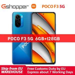 """Smartfon POCO F3 5G (6/128GB, Amoled 120Hz, 6.67"""", Snapdragon 870) z wysyłką z Czech @ Gshopper"""